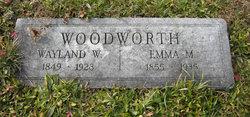 Emma <I>Moore</I> Woodworth