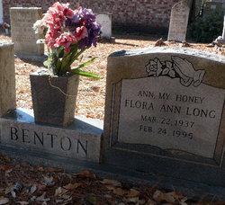 Flora Ann <I>Long</I> Benton