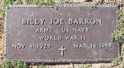 Billy Joe Barron