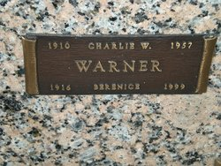 "Charles Willis ""Charlie"" Warner"