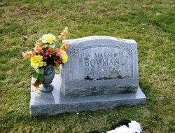 Uda <I>Marshall</I> Bowman