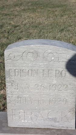 Edison Leroy Brack