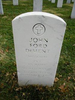 John Ford Dement