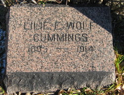 Lilie E. <I>Wolf</I> Cummings