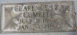 Clarence W Cumbee