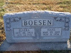 Elvera <I>Hansen</I> Boesen