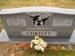 Gene Bradford Christy