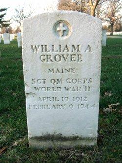 Sgt William A Grover
