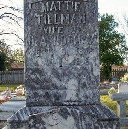 Mattie <I>Tillman</I> Norman