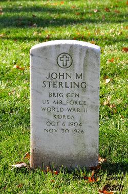 BG John M. Sterling