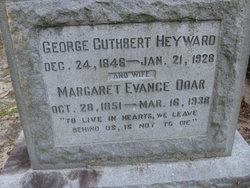 Margaret Evance <I>Doar</I> Heyward