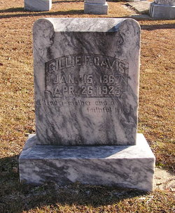 Gillie F. <I>Renfrow</I> Davis