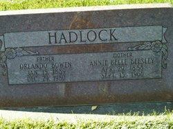 Orlando Bowen Hadlock