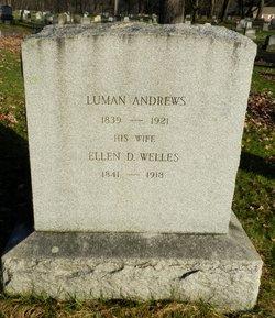 Ellen D <I>Welles</I> Andrews