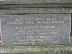 Ann Francis <I>Robinson</I> Gridley