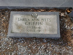 Sheila Ann <I>Pitts</I> Griffin