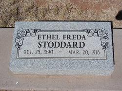 Ethel Freda <I>Fry</I> Stoddard