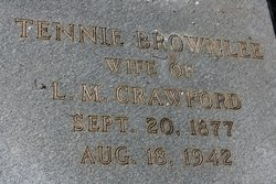 Tennie <I>Brownlee</I> Crawford