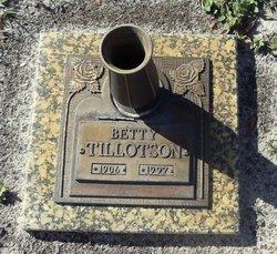 Betty Tillotson