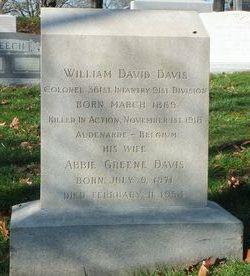 Abbie <I>Greene</I> Davis