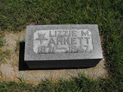 "Elizabeth M. ""Lizzie"" <I>Sprinkle</I> Arnett"