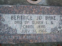 Beatrice Jo Bake