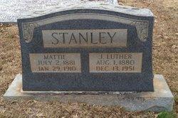 "Mattie ""Mat"" <I>Pinion</I> Stanley"