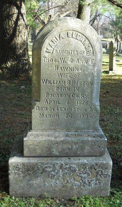 Maria Eleanor <I>Hawkins</I> Huston