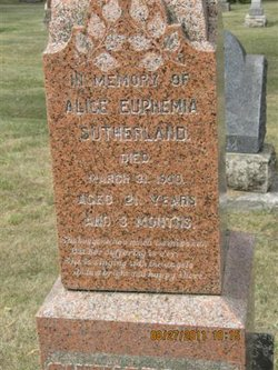 Alice Euphemia Sutherland