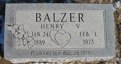 Henry V. Balzar