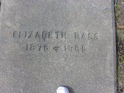 """Nancy Elizabeth """"Lizzie"""" <I>Coleman</I> Bass"""
