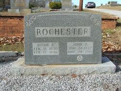 """Mrs Ruth Viola """"Ruthie"""" <I>Bolick</I> Rochester"""