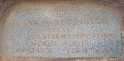 Frank Neuton Addington