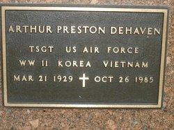 Arthur Preston Dehaven