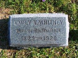 Emily V. <I>Whitney</I> Rice