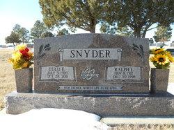 Lulu E. <I>Brown</I> Snyder