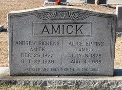 Alice Mae <I>Epting</I> Amick