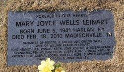 Mary Joyce <I>Wells</I> Leinart