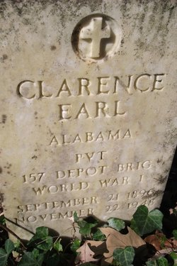 Pvt Clarence Earl