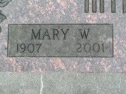 Mary Wilson <I>Whitaker</I> Mink
