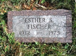 Esther Sara <I>Morgan</I> Fischer