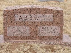 Harry Bishop Abbott
