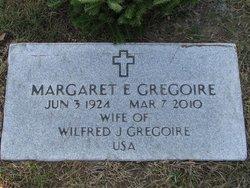 Margaret E <I>Day</I> Gregoire