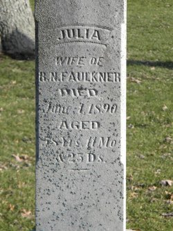 Julia A <I>King</I> Faulkner