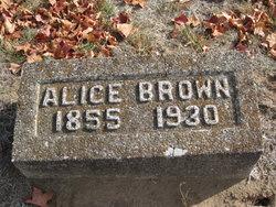 Alice Grey <I>Sanders</I> Brown