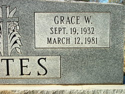 Grace <I>Webb</I> Bates