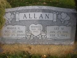 Madge <I>Evans</I> Allan