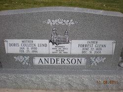 Doris Colleen <I>Lund</I> Anderson