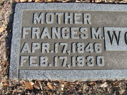 "Frances M ""Frankie"" <I>Barney</I> Woodworth"