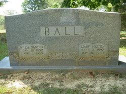 Willie Sanders Ball